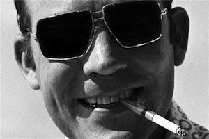 Image of Dr. Hunter S. Thompson Smiling